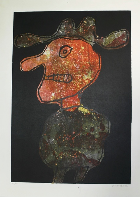 Jean Dubuffet, 'Homme au Chapeau', 1962, Denis Bloch Fine Art