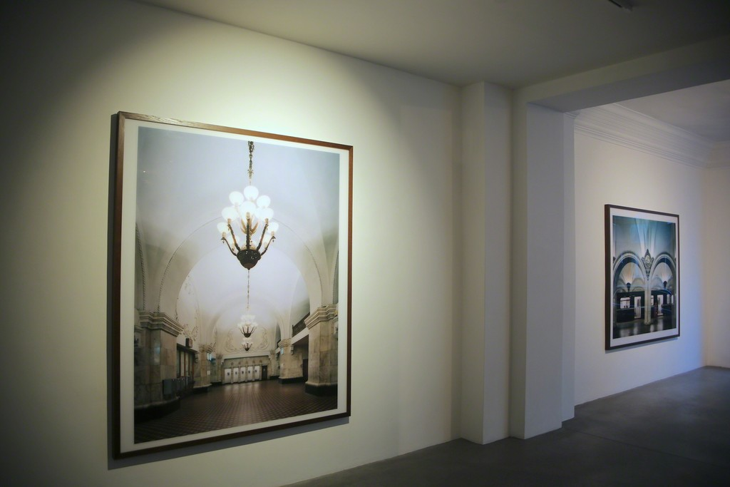 Installation view, Ralph Richter, Metro Moskau, Engelage & Lieder, 2017