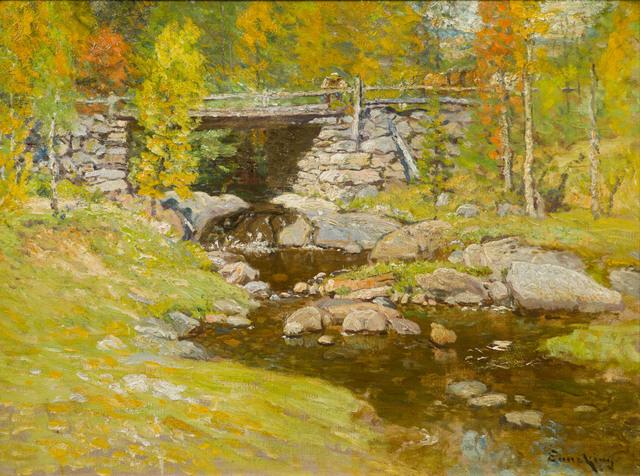 John Joseph Enneking, 'Brook in Autumn', 19th -20th Century, Vose Galleries