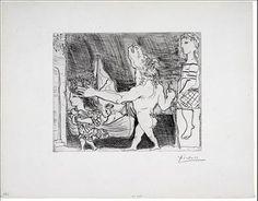 , 'Minotour aveugle guide par une fillette, II,' 1934, Marlborough Gallery