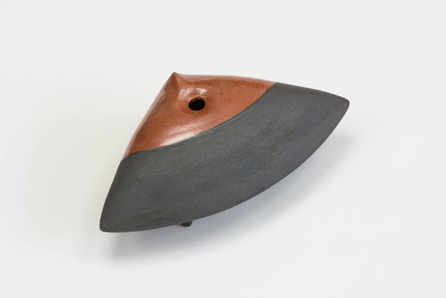 , 'Clam (cast iron orange and blue),' 2015, Nathalie Karg Gallery