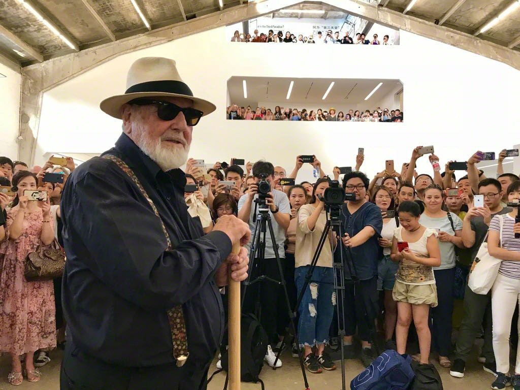 Michelangelo Pistoletto, OLTRE LO SPECCHIO, opening view GALLERIA CONTINUA, Beijing. Ph Oak Taylor Smith