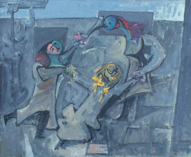 , 'Fasnacht,' 1964, Caldwell Gallery Hudson