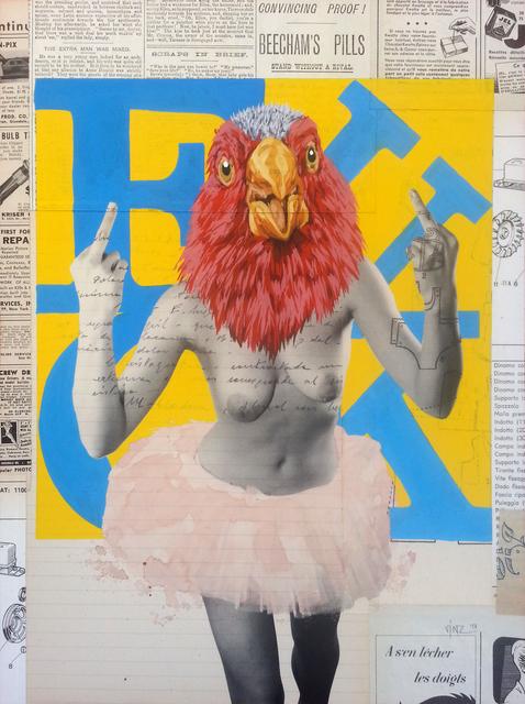 , 'Fuck,' 2014, Galerie SOON
