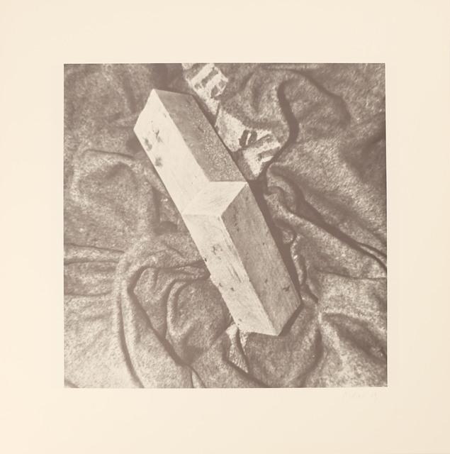 , 'Blatt f aus der Edition: 9 Objekte ,' 1969, Galerie Brigitte Schenk