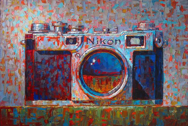 , 'Kathy's Nikon,' 2017, George Billis Gallery