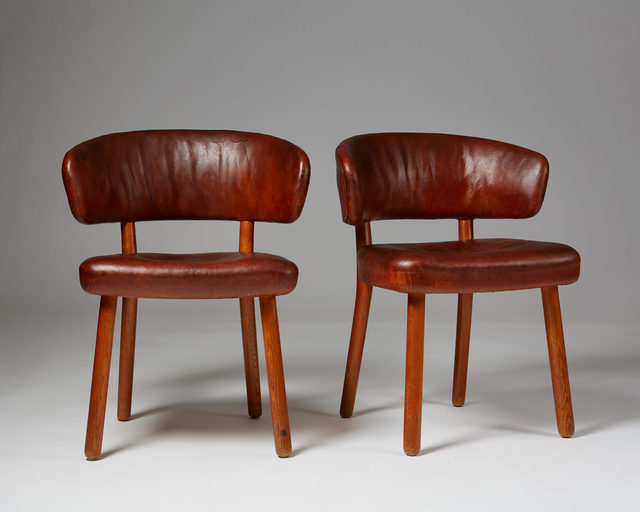 , 'Pair of rare chairs,' 1936, Modernity