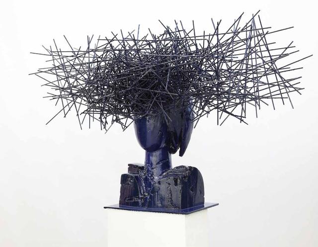, 'Head in blue II,' 2016, Opera Gallery