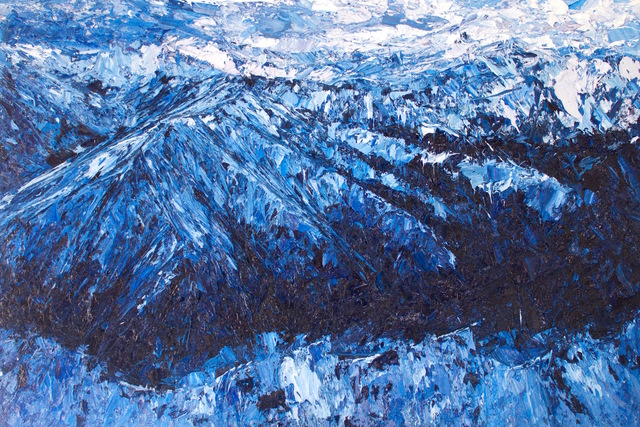 , 'Richardson Mountains ,' 2017, Rebecca Hossack Art Gallery
