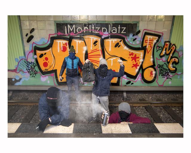 , 'Clockwork Orange,' 2017, Urban Spree Galerie