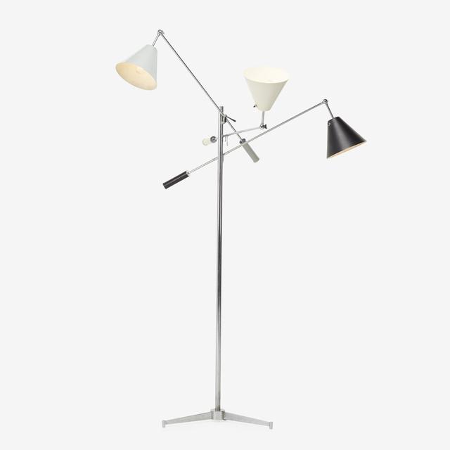 Angelo Lelii, 'Triennale floor lamp, model 12128', 1947, Rago
