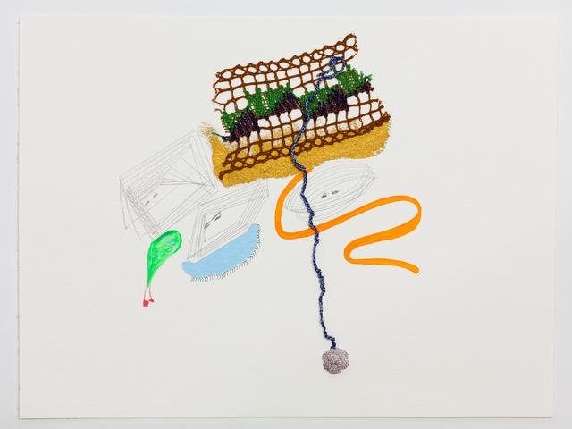 , 'Embroidered Emotions,' 2016, Galerie Martin Janda