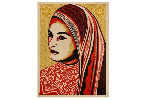 Shepard Fairey, 'Peace Woman', 2008, Chiswick Auctions