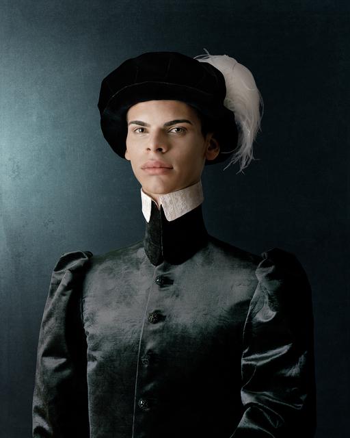 , 'Ritratto di Giovane Uomo Con Capello Plumato,' 2010, CAMERA WORK