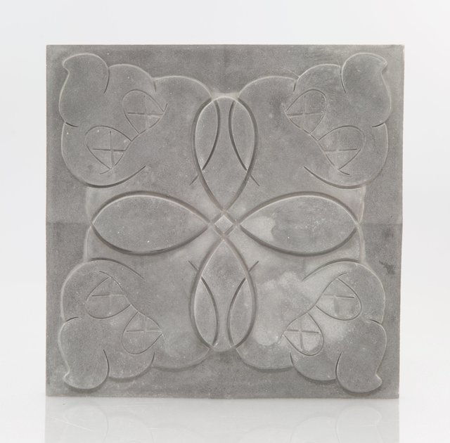 KAWS, 'OriginalFake Store Tile (Grey)', 2006, Design/Decorative Art, Ceramic tile, Heritage Auctions