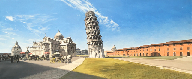 David Wheeler, 'The Field Of Miracles, Pisa  ', Plus One Gallery