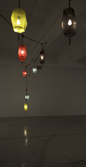 Martin Boyce, 'Spiralling Tracks Bored Through Mountains, Mobile Networks Lost in the Mist', 2013, Tanya Bonakdar Gallery