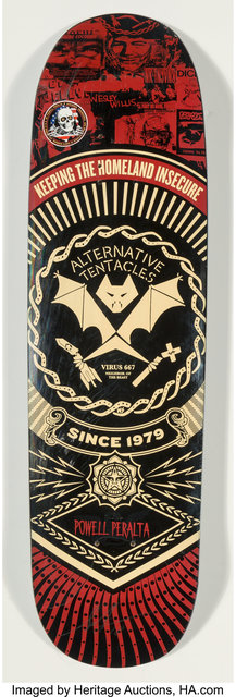 Shepard Fairey (OBEY), 'The Alternative Tentacles', 2013, Heritage Auctions