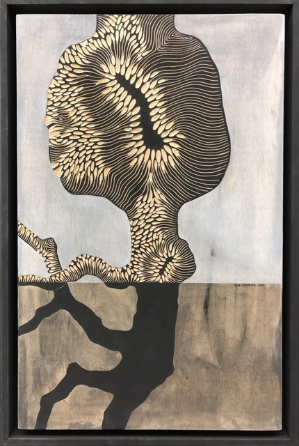 Zoe Ouvrier, 'Drev Painting', 2011, Podgorny Robinson Gallery