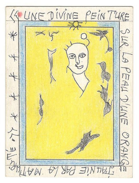 , 'Une divine peinture sur la peau d'une orange par la maturité.,' 2007, Magnin-A