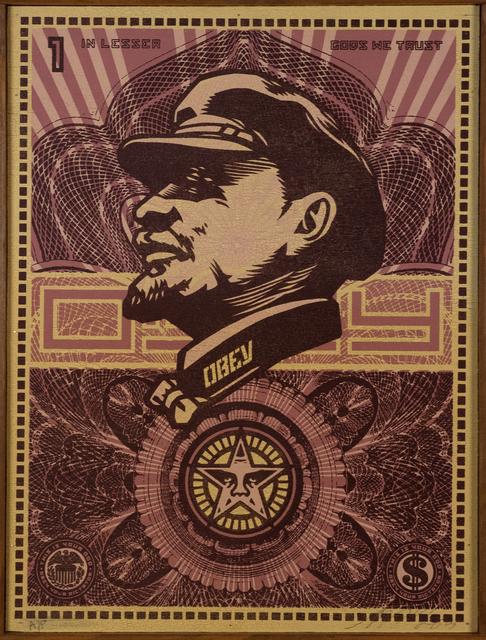 Shepard Fairey, 'Lenin Money', 2003, Doyle