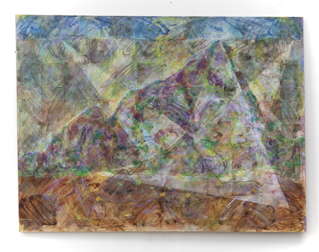 , 'Mountain and Triangles,' 2017, Court Tree Gallery
