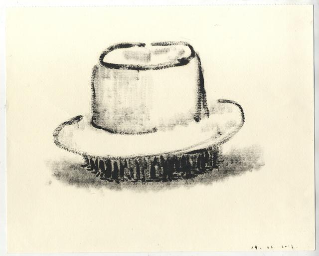 , 'a hat,' 2015, rosenfeld porcini