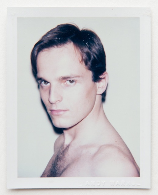 Andy Warhol, 'Andy Warhol, Polaroid Portrait of Miguel Bose, circa 1983', ca. 1983, Hedges Projects