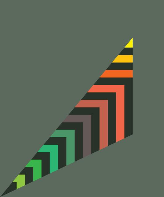 , 'Stripey Scalene Triangle,' , ArtStar