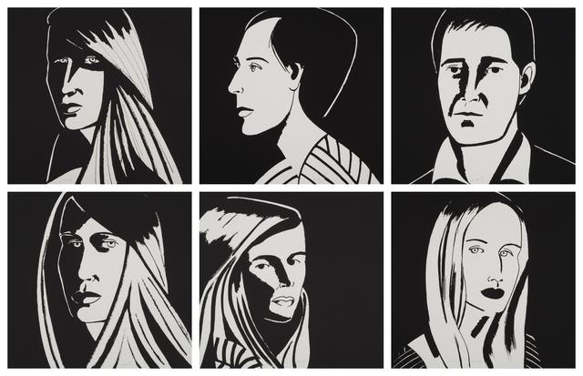 Alex Katz, 'Six Aquatints (Portfolio of 6)', 2013, Weng Contemporary