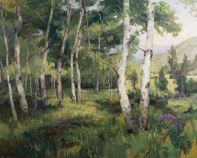 Robert Moore (b. 1957), 'Summer Glade', Heather James Fine Art