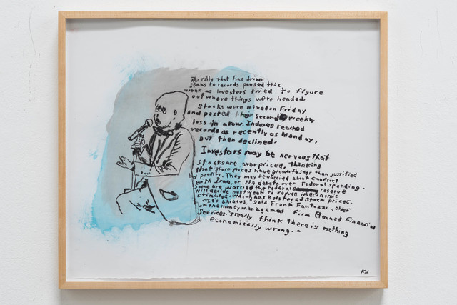 , 'I Really Think There Is Nothing Economically Wrong,' 2014, Rosamund Felsen Gallery