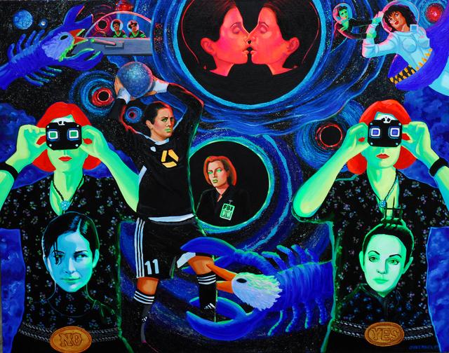 , 'Blackholes,' 2015, Ro2 Art