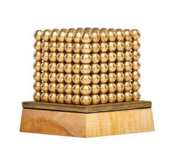 , 'Gold Cube,' , AbExArt