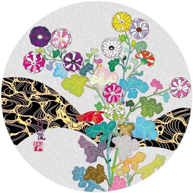 Takashi Murakami, 'Korin: Spring Flowers', 2016, Lougher Contemporary Gallery Auction