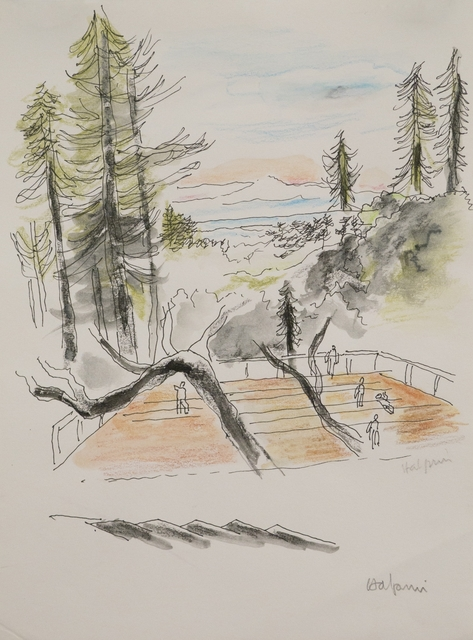 , 'Dance Deck, Kentfield,' 1985, Edward Cella Art and Architecture
