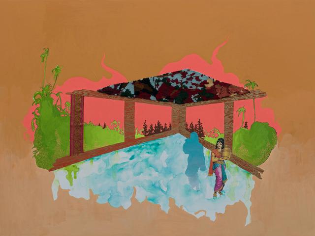 , 'Shadow Land,' 2019, Pen + Brush