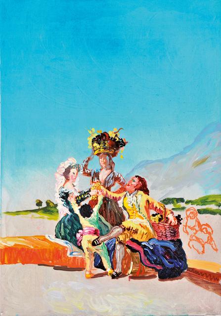, 'Herbst oder die Traubernte / nach Goya,' 2009, Flowers
