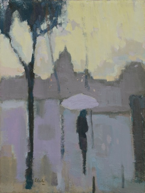 , 'Paris in the Rain,' 2018, The Lemond Gallery