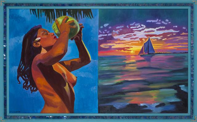 , 'I need a tropical vacation I,' 1984, CFHILL