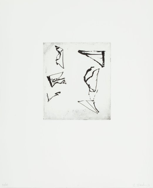 Brice Marden, 'Etchings to Rexroth, 1', 1986, Heritage Auctions