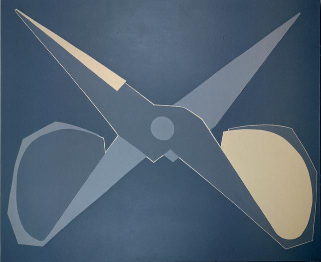 , 'Outline, Black-grey Scissors, Open ,' 2008, Tang Contemporary Art