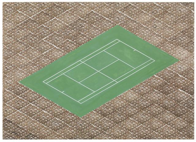 , 'Tennis,' 1987, Galerie Barbara Weiss