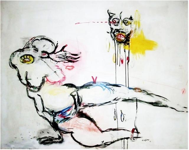 , 'Le rouge dans l'oeil,' 2012, In Situ - Fabienne Leclerc