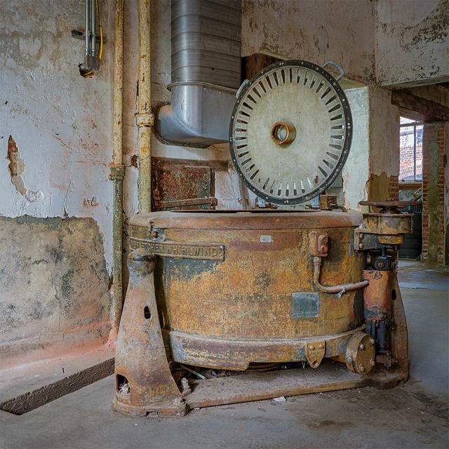 , 'Washing Machine, Laundry Room, Ellis Island Hospital,' 2017, Soho Photo Gallery