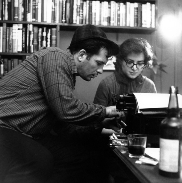 , 'Jack Kerouac, Gloria McDarrah Working on a Poem, 304 West 14th Street, New York City,' ca. December 10-1959, Robert Mann Gallery