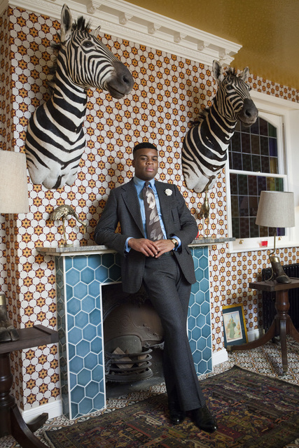 , 'Barima Owusu-Nyantekyi at the King's Head Club, London,' 2013, Museum of Contemporary Photography (MoCP)