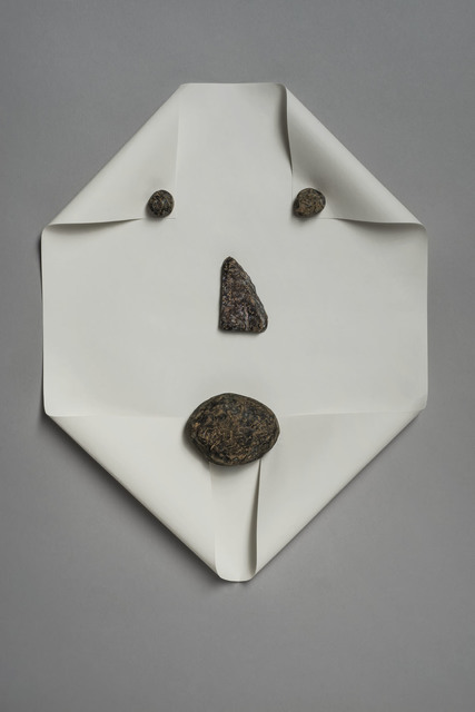 , 'Untitled (Rocks and Paper),' 2013, MKG127
