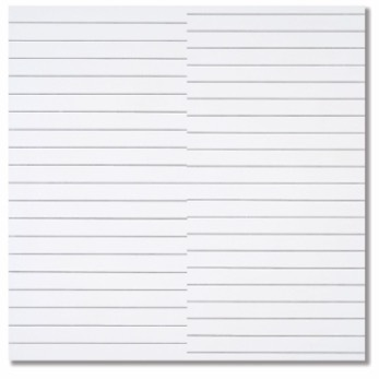 , '19 lignes parallèles et 21 lignes parallèles avec 1 interférence,' 1972, Dan Galeria