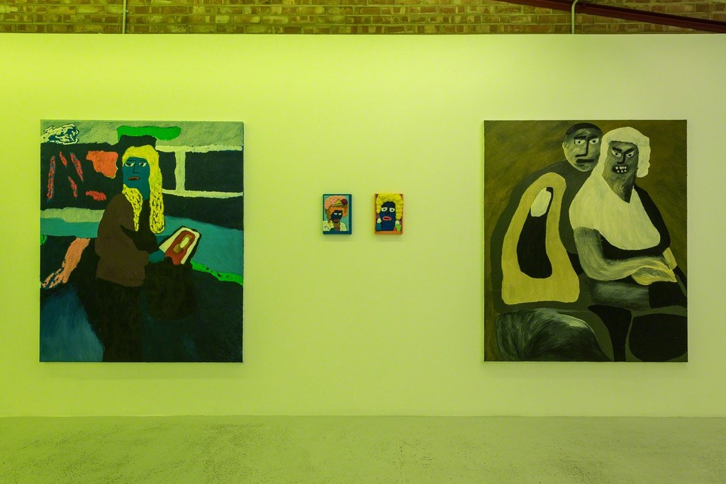 Dominic Dispirito 'In the garden, Council Housed And Violent' at Annka Kultys Gallery, London 2018. Photo: Annka Kultys Gallery